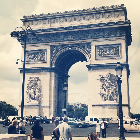 Arc de Triomphe Paris  photo