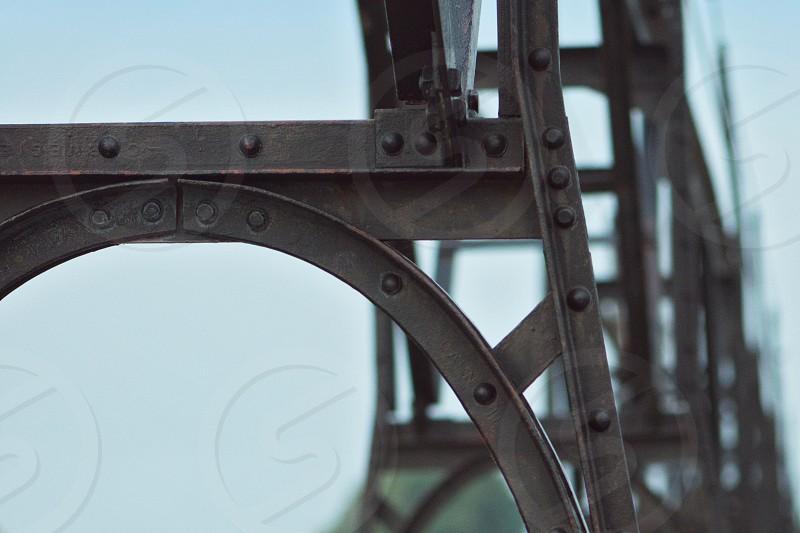 Lighthouse Bridge - South Haven Michigan USA photo
