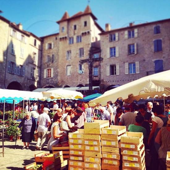 Market Aceyron France  photo