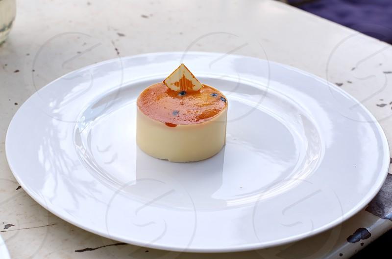 Cheesecake on Plate photo