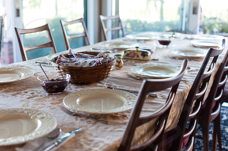 Table set photo