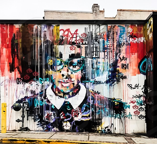 College park Maryland  mural street photography  photo
