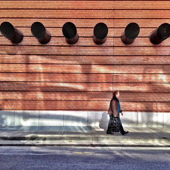 I walk the line....San Francisco California photo
