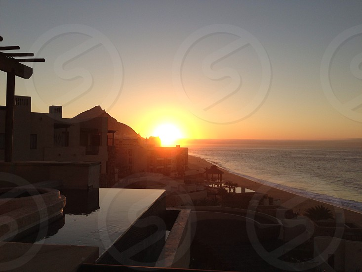 Sunrise in Cabo photo