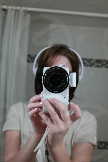 Self-portrait photo