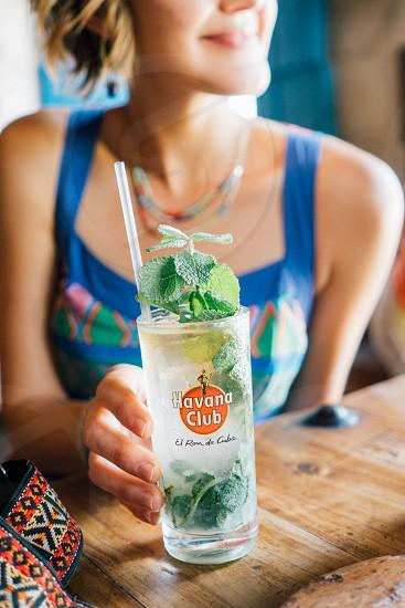 rum mojito cuba havana club coctail drink beverage photo