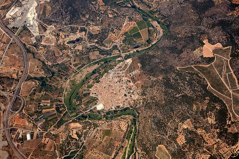 Sot de Ferrer Aerial village of Castellon in Spain at Valencian Community photo