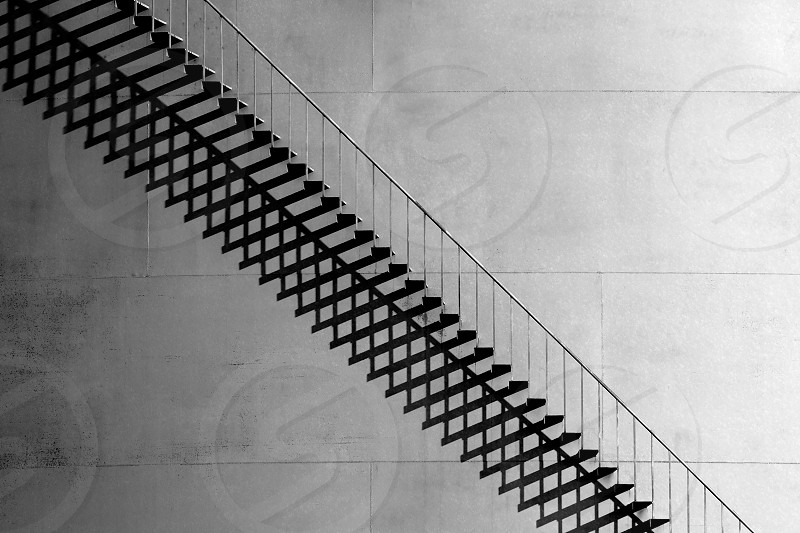 Stairs and shadows. photo