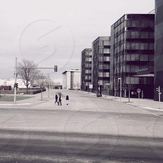 gray street light pole  photo