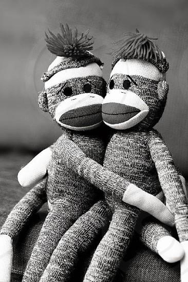 Sock Monkey Love photo