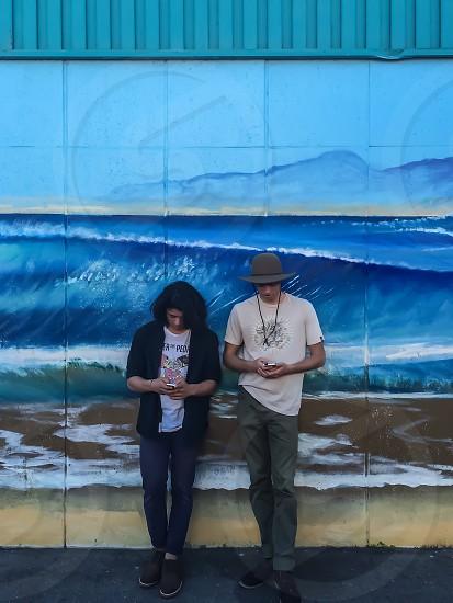#friendsandwalls. Friends. Wall. Mural. photo