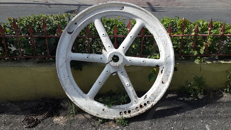 18th Century wheel. photo