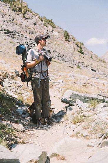 Sierra Nevada backpacking photo