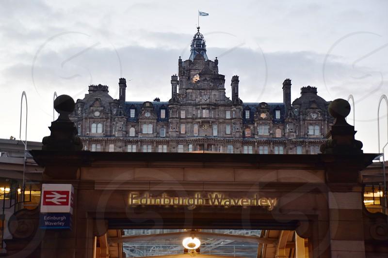 Edinburgh Waverley Railway Station photo