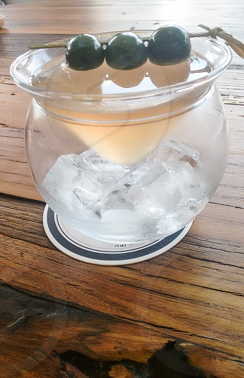 Icy martini!  photo