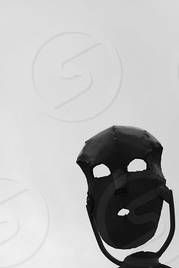 black mask photo