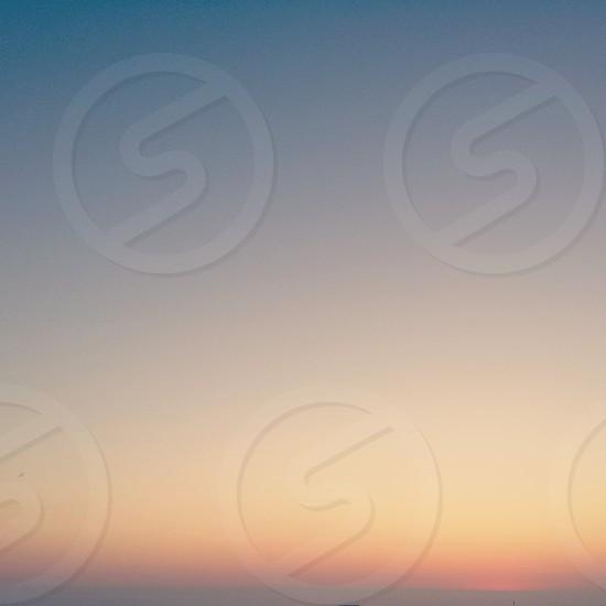 Sunset skies. sky pastel soft colors sunrise gradient photo