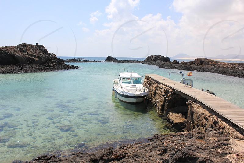 Isla de Lobos boat photo