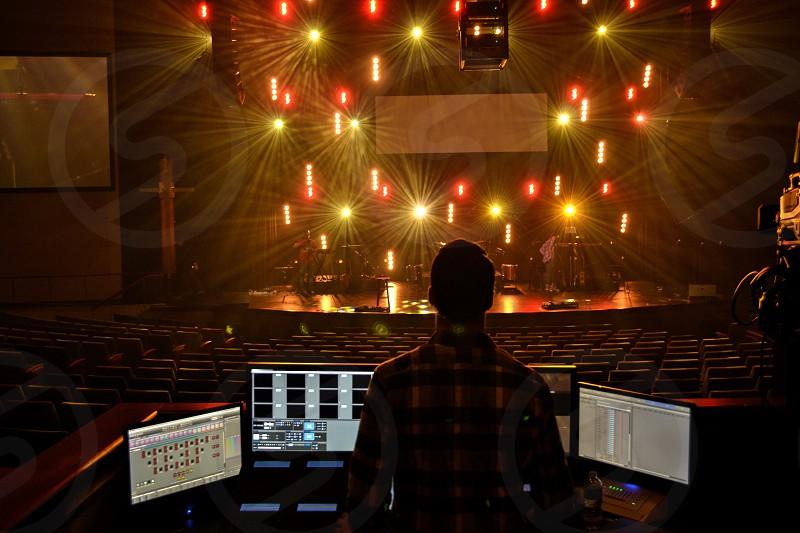 Stage engineer photo