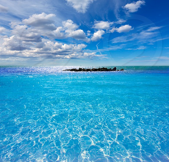 Key West beach Fort Zachary Taylor Park in Florida USA photo