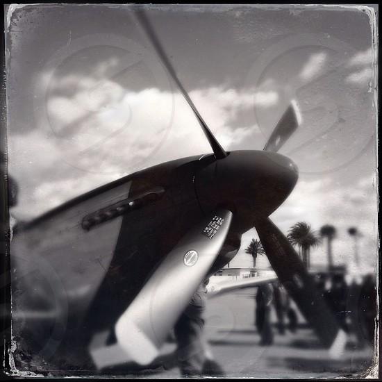 WWII era P-51 Mustang photo