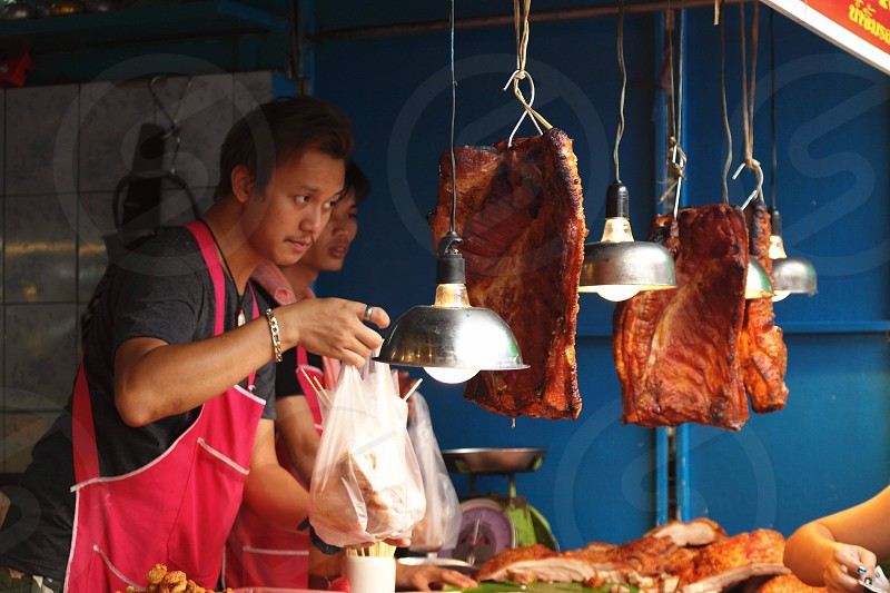 street food in Asia Country photo