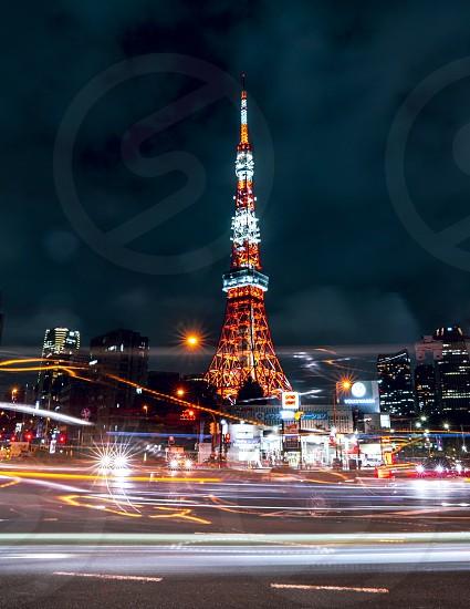 Tokyo Towernight photo