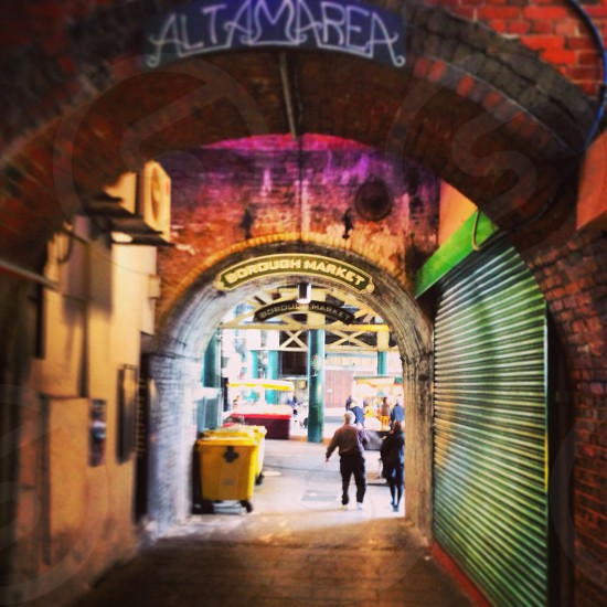 Borough Market London U.K. photo