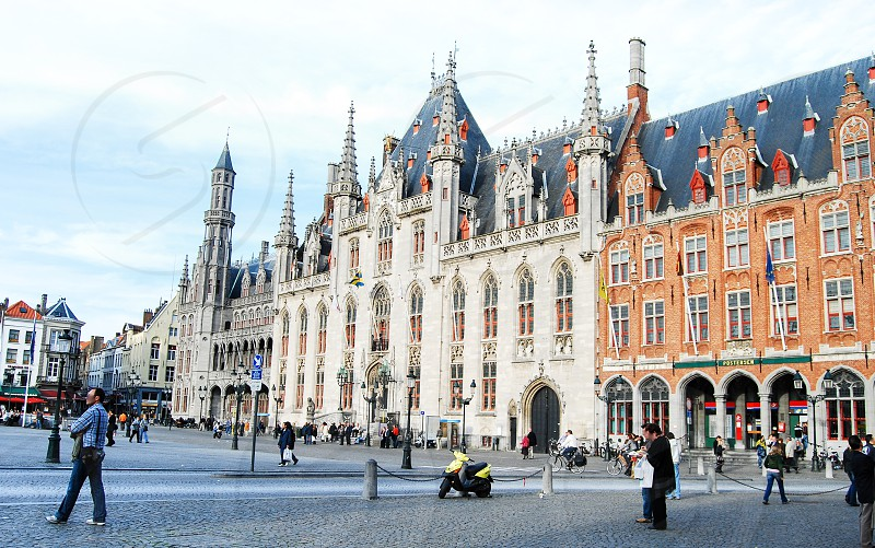 Bruges City Hall Belgium photo