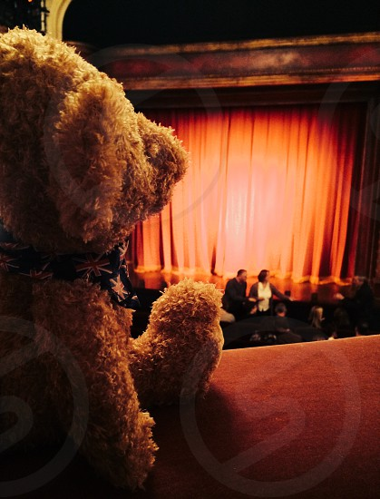 Teddy Bear at the Theater London photo