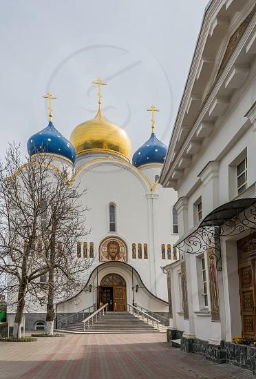 ODESSA UKRAINE - 04.11.2018. Orthodox Holy Dormition Monastery located in Odessa Ukraine. photo