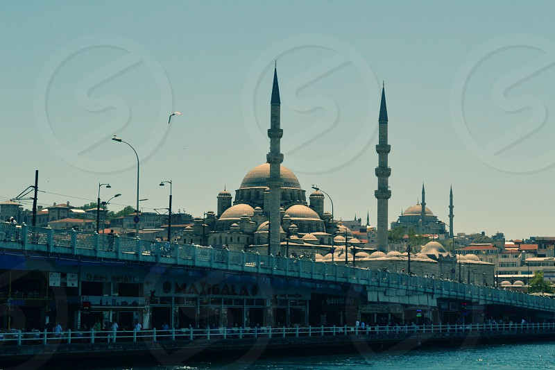 Istanbul Galata Bridge photo