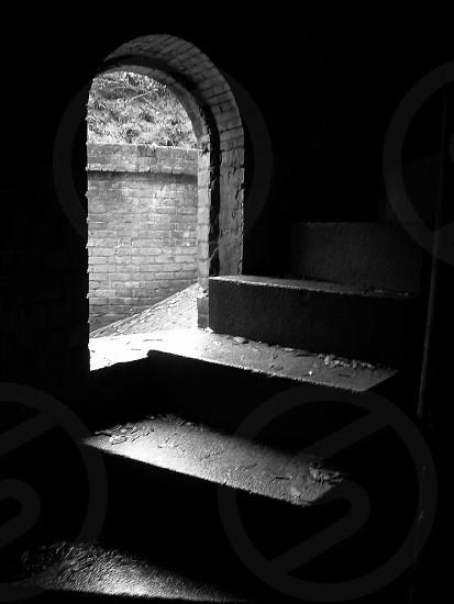 Castle stairwell photo