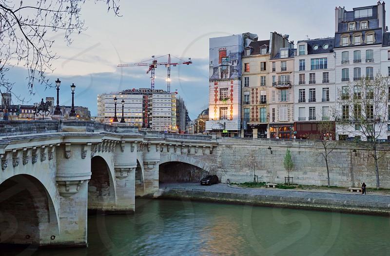 Pont Neuf - Paris France photo