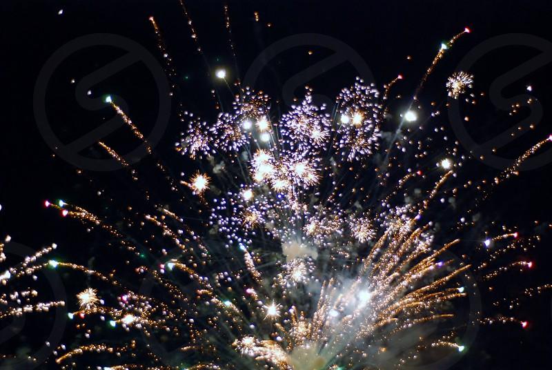 firework festival holiday night celebration photo