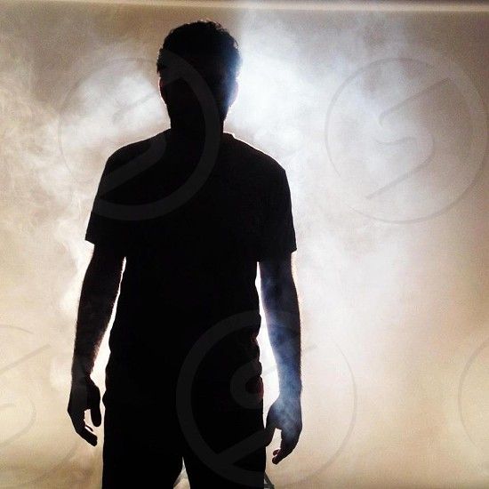 Smokey Silhouette.   photo