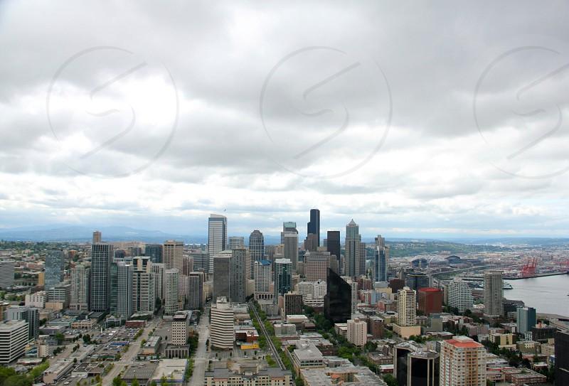 sky city view photo