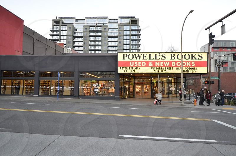 Powell's City of Books Portland Oregon photo