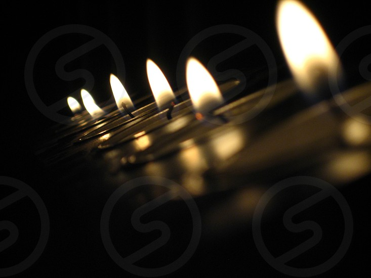 Candle atmosphere photo