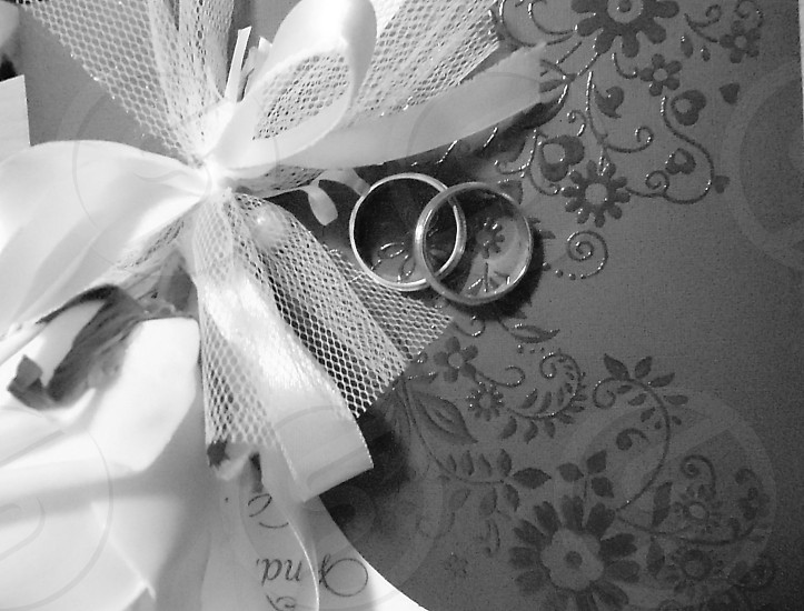 Rings invitation wedding rings photo