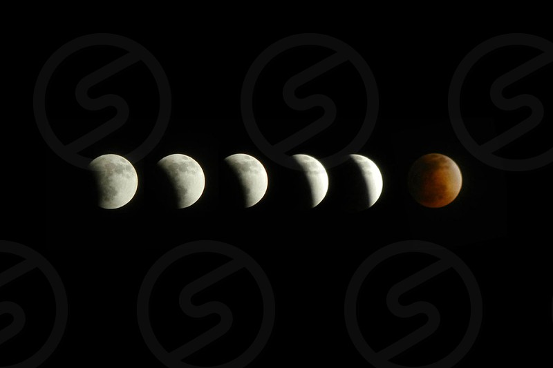 Formation of the Blood Moon photo