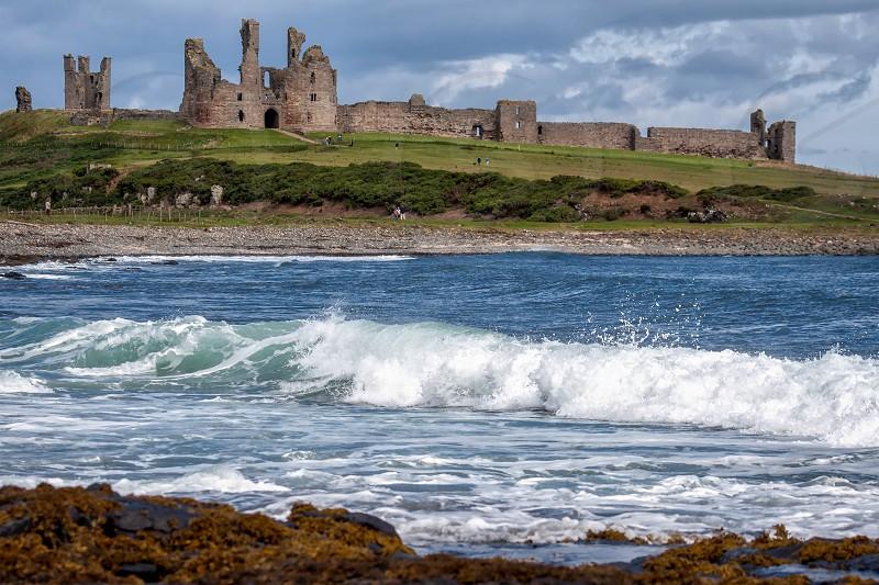 View of Dunstanburgh Castle photo