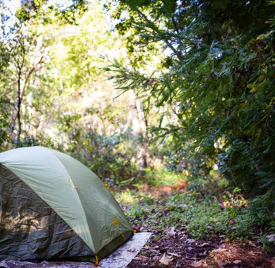 tent camp camping campsite nature setup outdoors equipment vacation photo