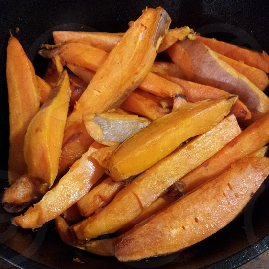 Vibrant Roasted Sweet Potatoes photo
