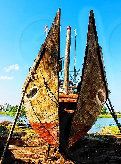 Boat reapir photo