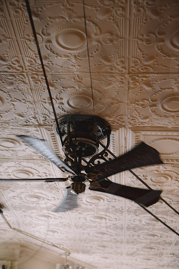 brown ceiling fan photo
