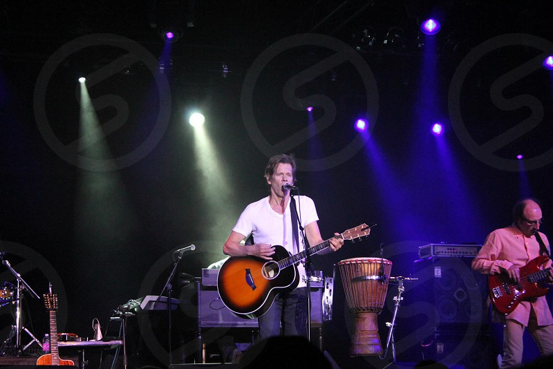 Kevin Bacon Bacon Brothers concert music photo