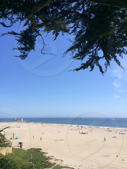 Sea Bright Beach Santa Cruz photo