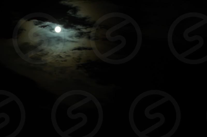Moonlit darkness photo