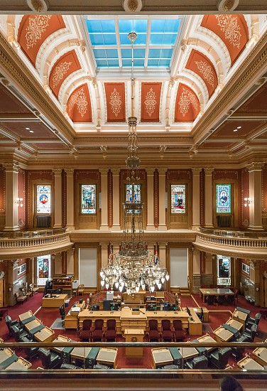 Inside the Colorado State Capitol in Denver photo